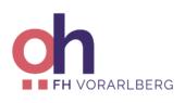 Logo der Österreichischen Hochschüler:innenschaft an der Fachhochschule Vorarlberg