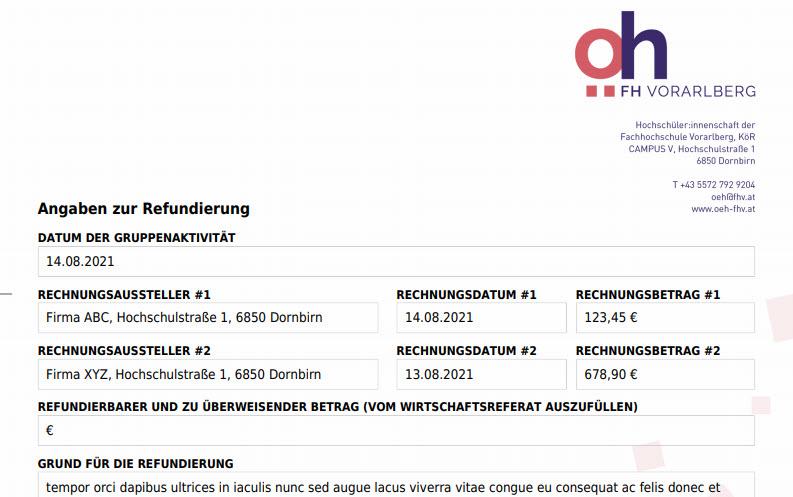 Refundierung & Sponsoring – Anträge ab sofort bequem online ausfüllen